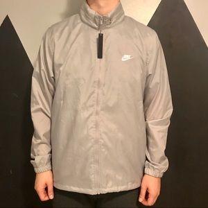 NIKE Men's Grey Sportwear Windrunner Jacket